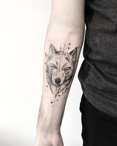wolf tattoos that take your breath away [latest 2019 trends] Wolf Tattoos, Tribal Tattoos, Body Art Tattoos, New Tattoos, Sleeve Tattoos, Small Tattoo Placement, Small Tats, Small Wrist Tattoos, Wolf Tattoo Design