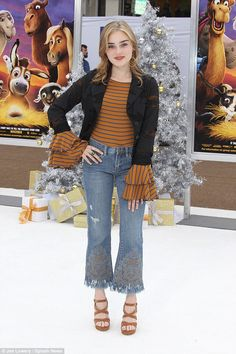 Disney princess: American Housewife star Meg Donnelly made an appearance at the star-studded event Zombie Disney, Zombie 2, Disney Channel Original, Original Movie, Meg Donnelly, High School Fashion, The Nativity Story, Gina Rodriguez, Zachary Levi