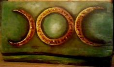 "Alejandro Vizcarra ""Luna"". 10cm x 25cm aprox óleo/tabla."