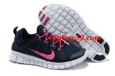 topfree30.com for nikes 50% OFF - Womens Nike Free Powerlines II Black Pink Shoes