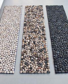 Pebble mat......shower?