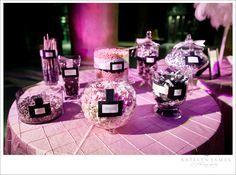 candy bar ideas for weddings | For our wedding | Virginia Wedding Photographer | Katelyn James ...
