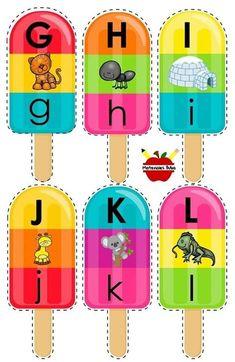 Learning Numbers Preschool, Preschool Prep, Preschool Worksheets, Teaching The Alphabet, Alphabet For Kids, Alphabet Book, Montessori Activities, Alphabet Activities, Infant Activities