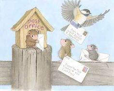 """Mudpie, Maxwell and Monica featured on The Daily Squeek® for August 2nd, 2015. Click on the image to see it on a bunch of really """"Mice"""" products."""