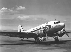 Phoenix to Farmington, N. M. on the old Frontier Airlines's DC-3