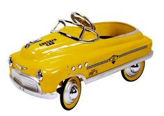 Yellow Toy Taxi Cab