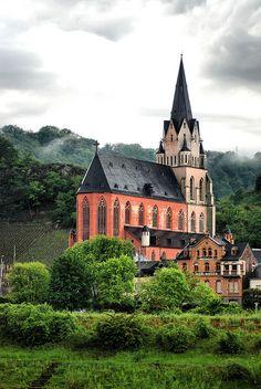 Sankt Goar, Middle Rhine - Germany