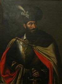 Michael the Brave was the Prince of Wallachia, of Transylvania, and of Moldavia. He united the three principalities under a single rule for a short period of time. He was assassinated in Portraits, Portrait Art, History Of Romania, Romanian Flag, Romania People, Les Balkans, Vlad The Impaler, The Beautiful Country, Knights Templar