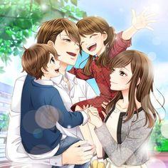 Ayato hidaka ~ My last first kiss Anime Cupples, Anime Dad, Anime Child, Fanarts Anime, Kawaii Anime, Anime Guys, Anime Characters, Anime Love Story, Anime Love Couple
