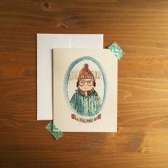 Card Size 4.25x5.5 Blank Insides Comes with matching white ...