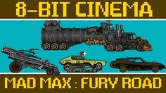 CineFix has released a new episode of Cinema that retells the story of the post-apocalyptic action film, Mad Max: Fury Road, as an old-school 8 Bit Art, 8 Bits, Tales From The Crypt, Little Tykes, Mad Max Fury Road, Oldschool, College Humor, Great Films, Retelling