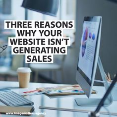 For most brands, a website is created to generate more sales opportunities. But what if you aren't getting more leads as you expected? Digital Marketing Strategy, Online Marketing, Social Media Marketing, Digital Review, Sales Image, Your Website, Seo, Improve Yourself, Web Design