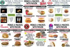 The Ultimate Guide to Fast Food and Restaurant Macro Friendly Eating - Macros diet - Healthy Fast Food Options, Fast Healthy Meals, Heart Healthy Recipes, Healthy Choices, Healthy Foods, Diet Recipes, Low Calorie Fast Food, Fast Foods, Healthy Lunches