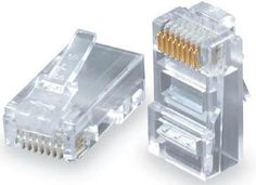 RJ-45 for 24AWG Stranded Cable - Pack of 100