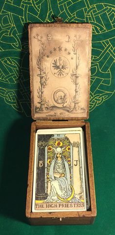 Alchemy tarot box by WarlocksBoxes on Etsy