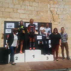 Podi absolut femení de la cursa 10k Ulldecona