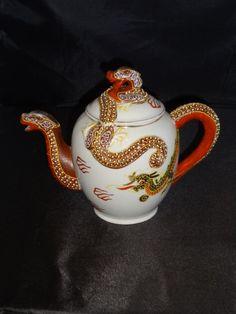 Vintage Japanese Dragonware Teapot
