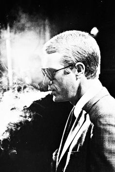 Steve McQueen photographed by Julian Wasser, 1964