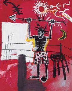The Ring, 1981 // by Jean-Michel Basquiat