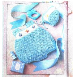 Easy Quick Crochet Pattern Baby Infant Boy and Girls Bubbles Romper, Bonnet sz Newborn-12 months