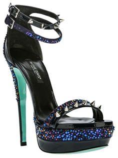 RUTHIE DAVIS 'Sea' Stiletto Platform Sandals
