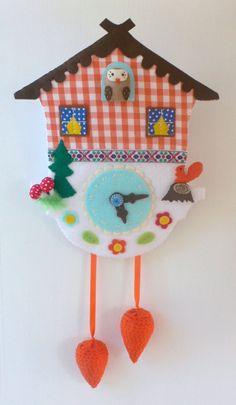 Cuckoo Clock..cute @Carly Peterson Bag