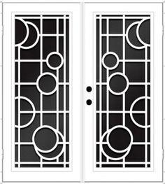 New Metal Door Design Exterior Ideas Home Window Grill Design, Iron Window Grill, Window Grill Design Modern, House Window Design, Balcony Grill Design, Grill Door Design, Front Gate Design, Main Door Design, Railing Design