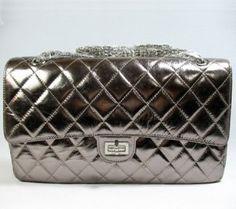 Chanel Leather Handbag 1113,$268