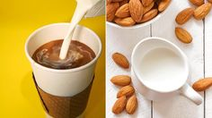 Paleo Swap: Swap creamer for almond milk - you'll save hundreds of calories a week! Two tablespoons of half and half contains 40 calories and 4 grams of fat, while the almond milk equivalent has just 2 calories and a miniscule amount of fat.