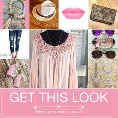 Dress in pink with Fleur de Chic! #prettyinpink #getthelook #boutique #shopfleurdechic