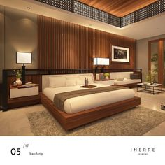 VISUAL IMAGE - Constraints are very important. They are positive. Because they allow you to work off something. Gray Bedroom Walls, Master Bedroom Interior, Bedding Master Bedroom, Small Room Bedroom, Bedroom Sets, Bedroom Lamps Design, Simple Bedroom Design, Luxury Bedroom Design, Hotel Room Design