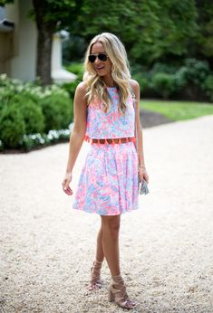 6d9434fd2bde0 Via @stylecusp in the Lilly Pulitzer Selina Set Preppy Southern, Southern  Style, Southern