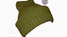 How to knit a hat for beginners.Vasilisa