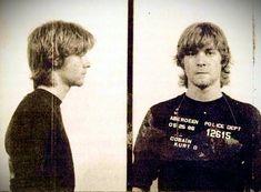 Kurt Cobain mug shot