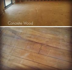 1000 Images About Rustic Concrete Wood On Pinterest