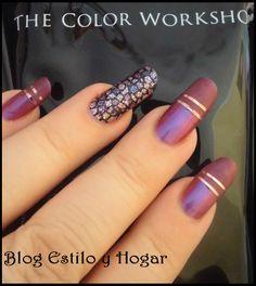 Manicura con materiales de The color workshop