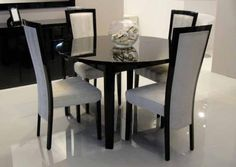 Black Extendable Dining Table a dining table from ikea is not best case, but it's only $179