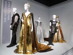 Hollywood Movie Costumes and Props: The Huntsman: Winter's War movie costumes on display... Original film costumes and props on display