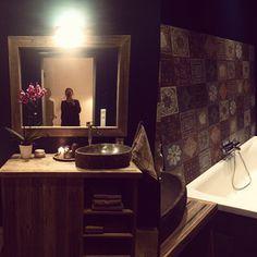 #Kundebilde #closefit #håndlagetavoss #barefordeg #bærekraftig #kortreist www.drivved.no Double Vanity, Photo And Video, Instagram, Double Sink Vanity