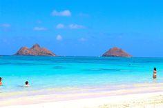 Lanikai Beach, Hawaii One of the most beautiful beaches ever