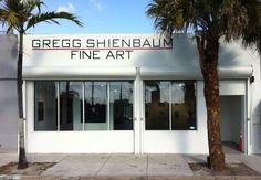 Gregg Shienbaum Fine Art Best art gallery!  Located in Wynwood 2239 NW 2nd Ave Miami, FL