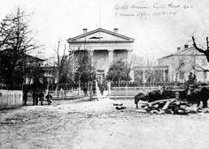 The Old State House (Arkansas's First State Capitol), Little Rock, Circa 1864