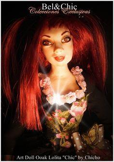 """Fotografia de Art Doll """"Lolita"""" como portada de Nuestro blog Art Dolls, Wonder Woman, Superhero, Blog, Fictional Characters, Women, Templates, Wigs, Cover Pages"""