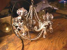 chandelier, earrings , jewelry designer William Llewellyn Griffiths