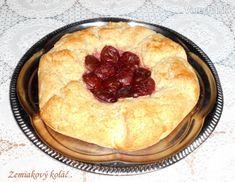 Zemiakový koláč s bryndzou a so slivkami (fotorecept) - Recept