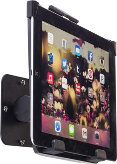 iPad Wall Mount Holder | Tilting Enclosure for Optimal Viewing