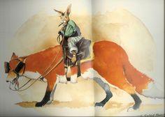 Brer Rabbit Rides Brer Fox