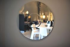 staff #fav, circular #mirror with inner circle - #sleek, #simple and #perfect