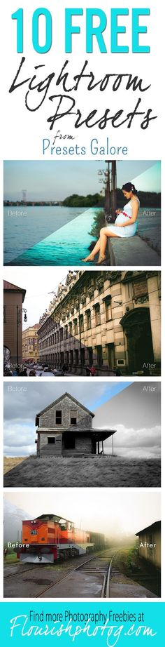Great set of FREE Lightroom Presets! These are from their Everything Bundle that is only $27 for 344 presets!