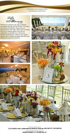News & Promo - Villa Ibarra Grand Food Tasting Taal Volcano, Tagaytay, Food Tasting, Projects To Try, Villa, Wedding Ideas, Events, Table Decorations, Elegant